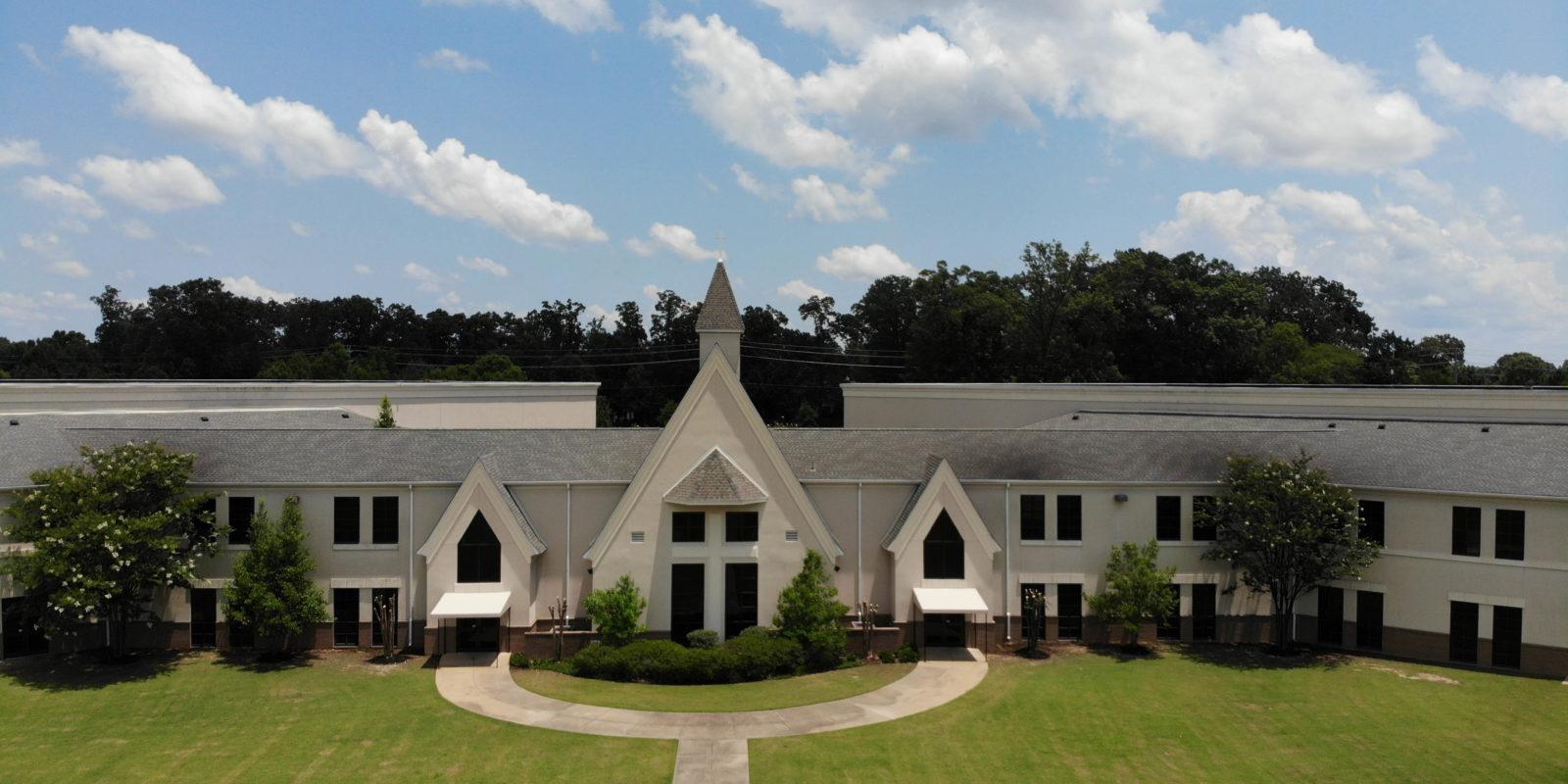 Jim West Central Church Collierville TN Mavic DJi Photo